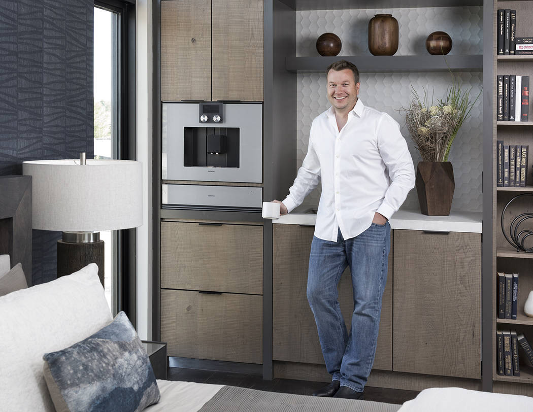 Michael Gardner at 2019 New American Remodel